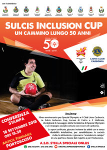 """Il sindaco di Carbonia, Paola Massidda, parteciperà alla """"Sulcis Inclusion Cup""""."""