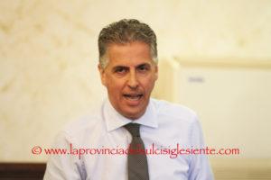 Roberto Frongia, neo assessore regionale dei Lavori pubblici, lascia il Consiglio comunale di Iglesias, al suo posto subentrerà Luisella Corda.