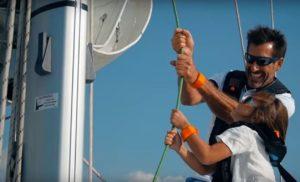 Sicuro inMare, progettoitinerante nato da un'idea diK BRANDeScuola Nautica NESW, si presenta al 58º Salone Nautico di Genova in una veste rinnovata.