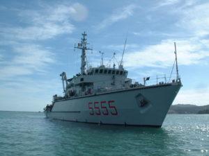 Il cacciamine Termoli della Marina Militare si aggrega alla forza contromisure mine della NATO.