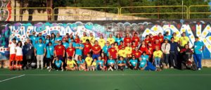 """A Carbonia grande festa dell'inclusione sociale con la manifestazione """"IncontriAMOci 2018"""", 4° campus per disabili relazionali e fisici."""
