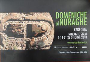 Tutte le domeniche del mese di ottobre (7-14-21-28) il Nuraghe Sirai di Carbonia sarà aperto al pubblico.