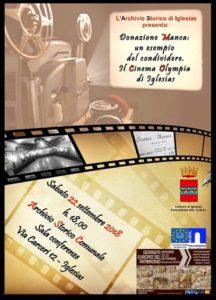 Nell'ambito delle Giornate Europee del patrimonio 2018, sabato sera, a Iglesias, verrà presentato il materiale documentario dell'archivio famigliare Manca, donato all'Archivio comunale.