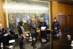 Il capo della Protezione civile Angelo Borrelli, oggi a Cagliari, si è congratulato con la Sardegna per il funzionamento dell'intera macchina nell'emergenza dei giorni scorsi.