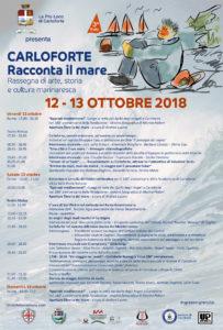 """Prende il via alle 17.00, a Carloforte, """"Carloforte Racconta il mare"""", rassegna di arte, storia e cultura mediterranea, organizzata dall'associazione turistica Pro Loco."""