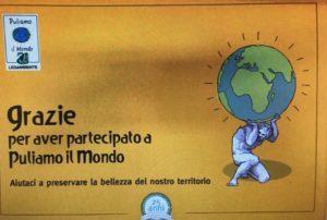 """Partecipazione record, a Carbonia, per l'edizione 2018 di """"Puliamo il mondo"""", con oltre 300 volontari impegnati nella raccolta di circa 25 mc di rifiuti."""
