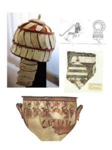 E' stata trovata una zanna di cinghiale che faceva parte dell'elmo di un guerriero miceneo, nel villaggio nuragico di Lu Brandali, a Santa Teresa Gallura.