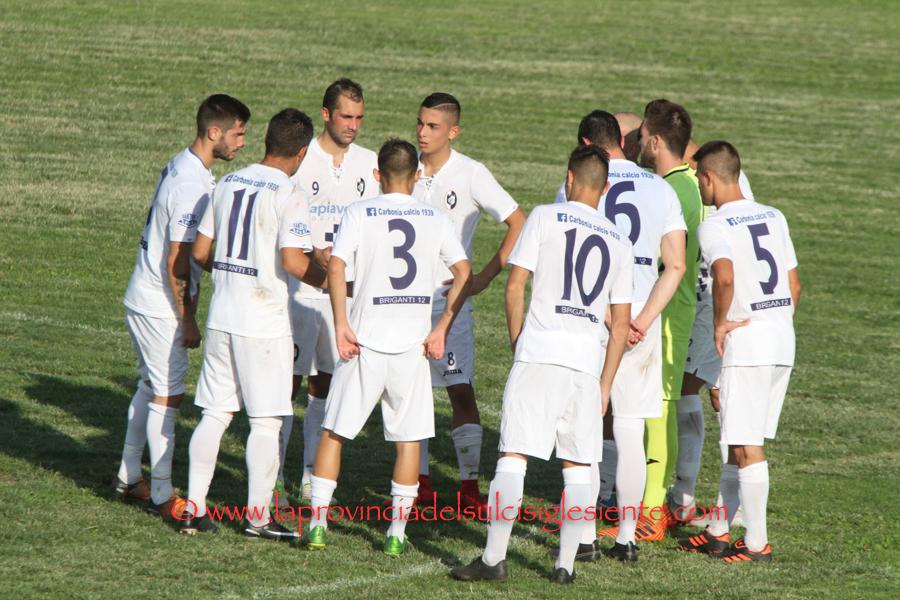 Al Carbonia il derby di Carloforte, la Monteponi fa 0 a 0 con il Sant'Elena, la San Marco passa di misura a Villamassargia.