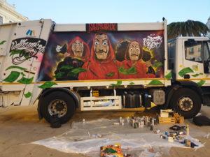 Si è concluso a Sassari il progetto che utilizza l'arte per sensibilizzare al decoro urbano.