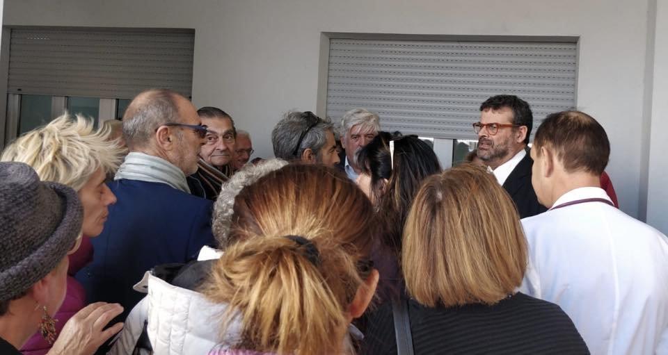 L'assessore della Sanità Luigi Arru e il direttore dell'Ats Sardegna a la Maddalena hanno incontrato i cittadini.