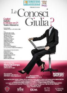 """Sold out in pochissimi giorni e una nutrita lista d'attesa per il debutto dello spettacolo teatrale """"La conosci Giulia?"""", al Teatro Massimo di Cagliari."""