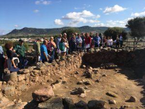 Oltre 300 visitatori per la prima domenica di ottobre a Monte Sirai.