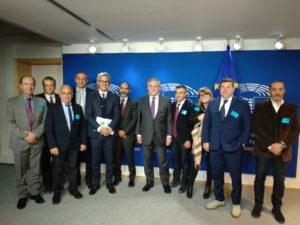 A Bruxelles, Confartigianato Sardegna a confronto con il presidente del Parlamento UE Antonio Tajani: «Le imprese artigiane della Sardegna vogliono contare di più in Europa».