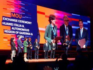 E' stato firmato a Roma un nuovo Memorandum of Understanding tra Regione Sardegna, CRS4 e Huawei per passare alla fase due del progetto.