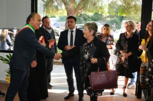 E' stato inaugurato oggi il nuovo Centro per l'Impiego di Alghero,trasferito nei nuovi locali in via Sergio Atzeni.