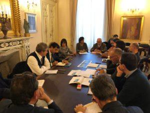 Ieri pomeriggio, nella sede della provincia di Sassari, si è svolto un incontro sulle vicende che riguardano la cessione di alcune aree Syndial, al Consorzio Industriale Provinciale.