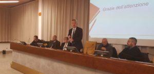 Filippo Spanu: «Abbiamo ritenuto opportuno, per l'importanza del progetto, organizzare nei territori momenti di discussione e approfondimento sui vantaggi delle nuove reti di videosorveglianza».