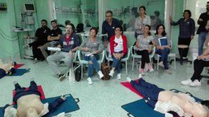 All'Aou di Sassari 33 nuovi esperti in tecniche di rianimazione cardio-polmonare.
