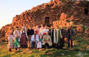 Nell'incantevole e suggestiva area nuragica di Seruci sono stati presentati i costumi nazionali della Comunità immigrata russofona in Sardegna.