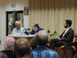 """E' stato presentato ieri sera, alla Comunità """"La Collina"""", l'ultimo libro del professor Aldo Natale Terrin."""