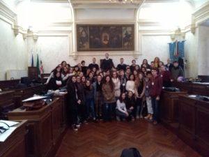 L'Amministrazione comunale di Iglesias ha dato un caloroso benvenuto ai ragazzi del progetto Erasmus+.