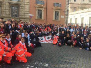 Intenso e commovente incontro di Papa Francesco, nell'Aula Paolo VI, con i rappresentanti delle 1.725 organizzazioni della Sardegna.