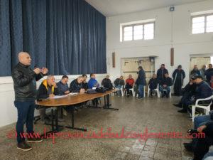 Si è svolta questa mattina, nel salone dell'oratorio San Giovanni Bosco della chiesa di San Ponziano, a Carbonia, l'assemblea dei lavoratori ex Alcoa, oggi Sider Alloys.