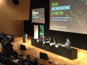 Sardegna protagonista, in questi giorni a Barcellona, dell'edizione 2018 del Bioregions Forum, dedicato al tema della bioeconomia forestale.