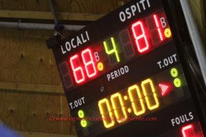 La Sulcispes ha vinto il derby di Carbonia, 81 a 68 (primo tempo 41 a 38) davanti ad un pubblico record, nella serie D di basket maschile.