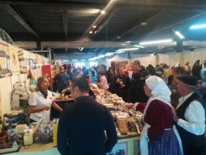 Il maltempo non ferma InvitaS 2018, migliaia di visitatori alla Fiera di Cagliari.