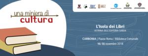 """Da domani, venerdì 16, a domenica 18 novembre, Carbonia sarà protagonista della terza edizione dell'evento intitolato """"Una miniera di cultura""""."""