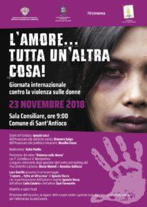 Venerdì 23 novembre si terrà a Sant'Antioco un convegno per la sensibilizzazione sul tema della violenza sulle donne.