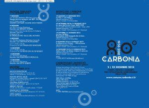 Il comune di Carbonia ha reso noto oggi il programma dei festeggiamenti per l'80° compleanno della città.