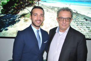 Il sindaco di Stintino Antonio Diana ha incontrato il principe libanese Majid Talal Arslan.