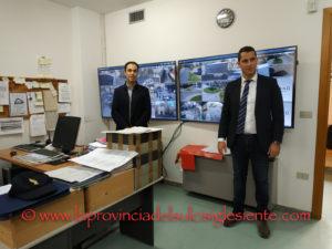 L'Amministrazione comunale di Iglesias ha presentato questa mattina, nella sede del Comando di Polizia locale, il nuovo sistema di videosorveglianza cittadina.
