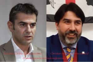 Massimo Zedda e Christian Solinas sono i candidati alla carica di governatore della Sardegna per le coalizioni di centrosinistra e centrodestra.