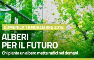 """Domenica 18 novembre, a Carbonia, i volontari saranno protagonisti dell'iniziativa """"Alberi per il Futuro""""."""
