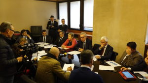 """Francesco Pigliaru: """"24.000 occupati in più rispetto al terzo trimestre 2017, 76.000 rispetto al 2024""""."""