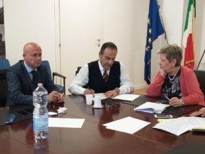 E' stata siglata oggi un'intesa per agevolare il reimpiego nell'Agenzia per il Lavoro portuale della Sardegna SRL degli ex dipendenti della CLP.