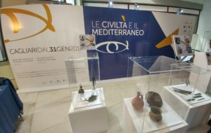 La Civiltà e il Mediterraneo: 550 pezzi dai più prestigiosi musei europei. Presentata oggi l'anteprima a Cagliari.