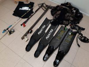 Rischiano sanzioni per oltre 8mila euro i due pescatori abusivi che, sorpresi dal Corpo forestale all'interno del parco nazionale dell'Asinara, hanno violentemente minacciato gli agenti di polizia giudiziaria.