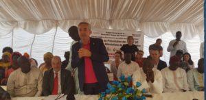 L'assessore regionale Filippo Spanu ha partecipato ad un'assemblea pubblica che si è svolta a Pikine Est, comune di 30mila abitanti, nell'area di Dakar.