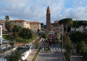 Grande successo per l'escursione tenutasi ieri da Carbonia a Cortoghiana per festeggiare gli 80 anni della città.