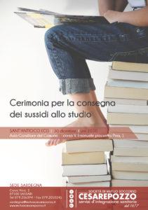 Domenica 30 dicembre, a Sant'Antioco, la Mutua sanitaria Cesare Pozzo premia 95 studenti sardi.