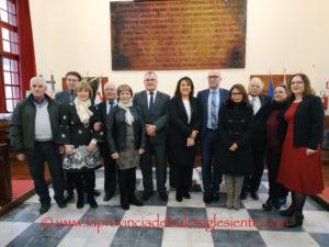 Si è svolto questo pomeriggio un incontro con le delegazioni di Behren lès Forbach e Oberhausen, città gemellate con Carbonia.