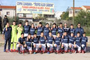Il Carbonia ha vinto per il terzo anno consecutivo la Coppa Santa Barbara Trofeo Aldo Carboni, superata in finale l'Antiochense per 2 a 1.