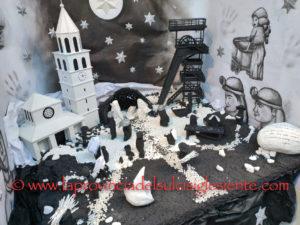 """Il Museo del Carbone ospiterà dal 8 dicembre al 6 gennaio la IX edizione della mostra """"In miniera tra i presepi""""."""