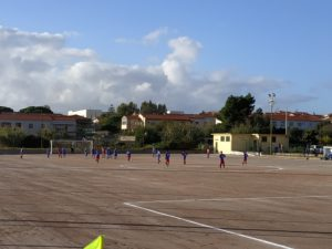 Il campo Santa Barbara è stato ristrutturato per la 56ª edizione della Coppa Santa Barbara Trofeo Aldo Carboni.