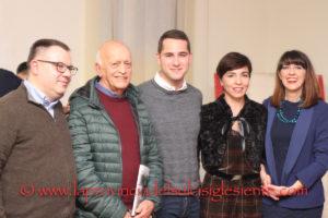 Nino Falchi… Una vita per il calcio. Iglesias ha festeggiato ieri sera il simbolo del calcio iglesiente nel giorno del suo 80° compleanno e della presentazione del suo libro.