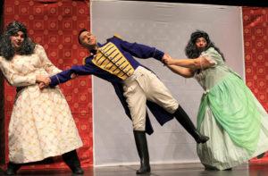 """""""La principessa sul pisello"""", must natalizio imperdibile con la sottile ironia della fiaba di Andersen sapientemente rivisitata al Teatro delle Saline di Cagliari."""